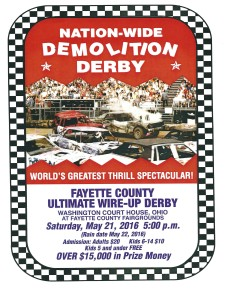 Demo Derby May 21 2016