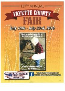 Fayette County Fair 2016